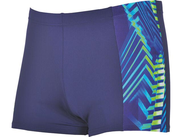 arena Spike Swim Shorts Men navy-leaf
